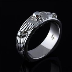 Men's Angels and Demons Ring by Images Jewelers