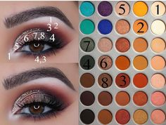 New makeup tutorial jaclyn hill palette Ideas Neues Make-up-Tutorial Jachill Hill-Palette Ideen Jaclyn Hill Palette, Jacklyn Hill Palette Looks, Jaclyn Hill Eyeshadow Palette, Morphe Palette, Eye Palette, Makeup Eye Looks, Eye Makeup Steps, Natural Eye Makeup, Smokey Eye Makeup