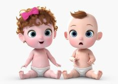 Cartoon Baby Twin Rigged by Cartoon Baby Girl And Boy Rigged High Quality Cartoon Baby Mo Boy Cartoon Drawing, Boy And Girl Cartoon, Cartoon Kids, Cartoon Images, Cute Cartoon, Boy Or Girl, Baby Boy, 3d Cartoon, School Cartoon