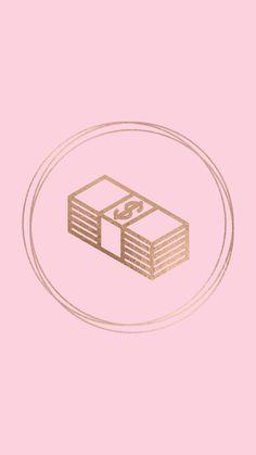 Money Instagram Blog, Instagram Money, Pink Instagram, Lit Wallpaper, Aesthetic Iphone Wallpaper, Cute Backgrounds, Cute Wallpapers, Whatsapp Logo, Money Logo