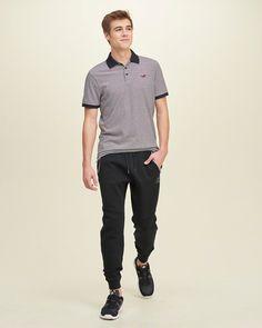 Hollister Graphic Fleece Jogger Pants
