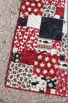 I have been rushing to finish my Oh Canada Quilt as tomorrow is Canada Day and happy to report I got the binding finished last night. Free Motion Quilting, Quilting Tips, Quilting Projects, Yarn Projects, Easy Sewing Projects, Canadian Quilts, Quilts Canada, Canada Day Crafts, Quilt In A Day