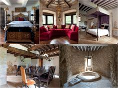 The #castle features fireplaces in each room, velvet drapes, renaissance tapestries, frescoes, artwork, furniture and the view all create a quite unique atmosphere: it is situated in an area which is an ideal home base for sorties into both the #Umbrian and #Tuscan countryside.  #luxury #luxurytravel