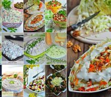 Salad and Appetizer Recipes - Hayat Cafe Easy Salata ve Meze Tarifleri – Hayat Cafe Kolay Yemek Tarifleri appetizer recipes - Vegan Appetizers, Easy Appetizer Recipes, Healthy Salad Recipes, Healthy Snacks, Easy Recipes, Popular Appetizers, Meze Recipes, Cooking Recipes, Snacks Recipes