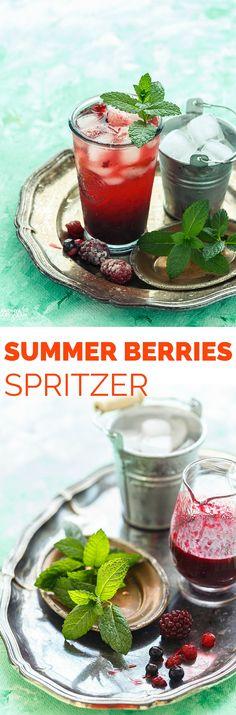 Summer Berries Spritzer