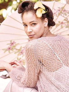 IBARAKI from Rowan Knitting and Crochet Magazine No. 59 (ZM59). Rowan is promoting two stories this Spring/Summer - Coastal and Kyoto | English Yarns