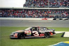 Doing Donuts in the Daytona infield grass after winning the 1998 Daytona 500