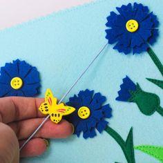 Развивающая книжка Цветы: купить на leapl.toys