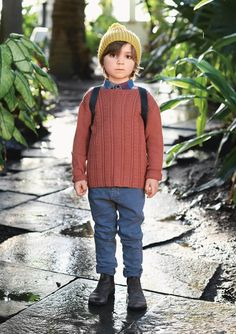 1704 Barn. Strikket Timoteigenser My Design, Barn, Turtle Neck, Sweaters, Kids, Fashion, Stapler, Children, Boys