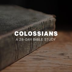 A: Colossians | 5th Grade Sunday School | Youth group ...