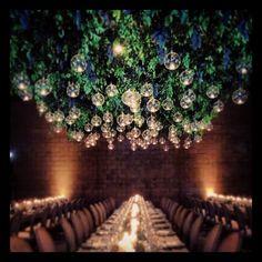 One last look! @discomf @sarafayegan #grapechandelier Events by Jackson Durham #jacksondurham #wedding #weddingflowers #floral #flowers #floraldesign #events #eventdesign