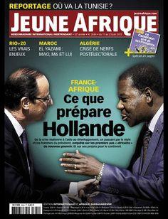 La couverture de Jeune Afrique le  17 Juin 2012