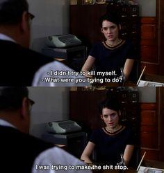 Girl, Interrupted. världens bästa film!!!!!!!! <3