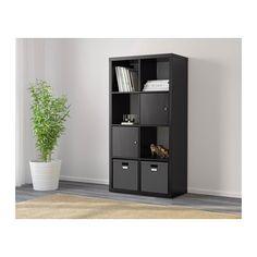 KALLAX Shelf unit - black-brown - IKEA