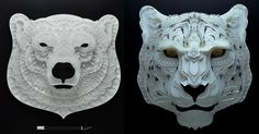Artist Patrick Cabral creates complex paper cutting art that brings awareness to endangered animals. Half of the proceeds from the artworks goes to charity.