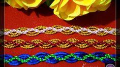 Kumimari 46: Laced Obijime (Waved Kumihimo Bracelet)