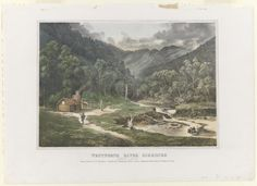 Wentworth River diggings, Gippsland 1864	 from The Melbourne Album 1864 Nicholas CHEVALIER Charles TROEDEL (printer)