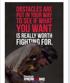 Spartan Race is the global leader in obstacle course races, with the right challenge for anyone - from first-time racers to elite athletes. Fitness Motivation, Fitness Quotes, Daily Motivation, Motivation Inspiration, Great Quotes, Me Quotes, Motivational Quotes, Inspirational Quotes, Train Hard