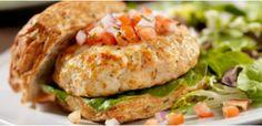 Take a look at this recipe (Baja Turkey Burger)
