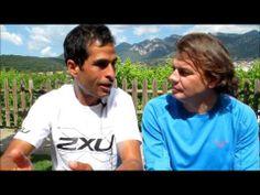 Gerard Morales lider spain ultra cup entrevistado por Mayayo en Bergaresort para Carrerasdemontana.com
