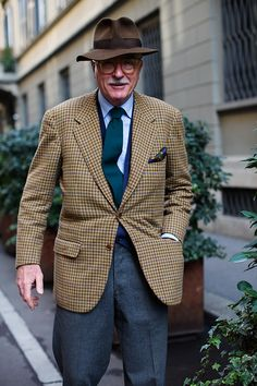 On the Street….Luciano Barbera, Milan - The Sartorialist.