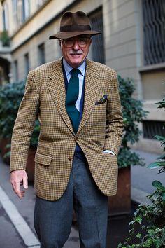 On the Street….Luciano Barbera, Milan