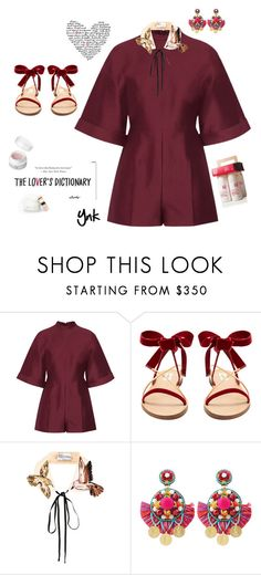 """""""Valentino"""" by ynk24 ❤ liked on Polyvore featuring Valentino, Behance, RED Valentino and Ranjana Khan"""