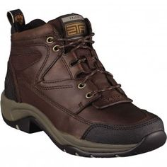 10004138 Ariat Women's Terrain Equestrian Shoes - Cordovan www.bootbay.com