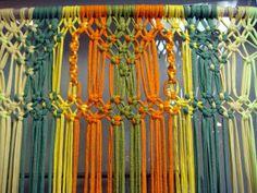 Will's Wools: Zpagetti Macrame vliegengordijn / door hanging!