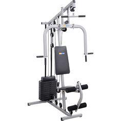 Shoptime Estação de Musculação Smart 8000 23 Exercícios Cinza e Preto Life Zone - R$ 632