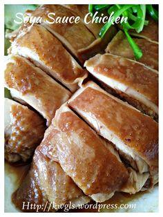 Cantonese Soya Sauce Chicken (粤式豉油鸡, 酱油鸡) #guaishushu #kenneth_goh #粤式豉油鸡 #soya_sauce_chicken