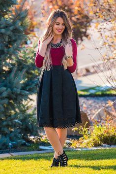 Gabby Midi Skirt