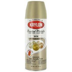 Krylon Champagne Brushed Metallic Satin Spray Paint | Shop Hobby Lobby