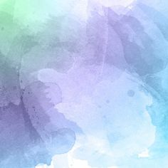Watercolor texture with paint stains Free Vector