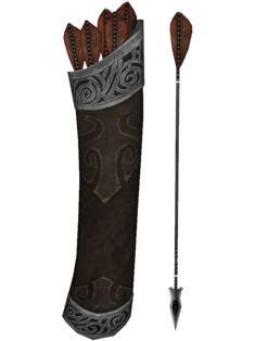 Skyrim Arrows, Scroll Tattoos, Bow Drawing, Skyrim Funny, Archery Bows, Red Vs Blue, Fate Servants, Arm Armor, Game Item