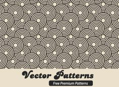 An amazing Vector circle pattern constructed using simply just circles - free download.