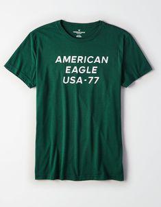 99029e86439 Para o dia a dia  Camiseta Masculina American Eagle Original. Coloque uma  camisa esportiva