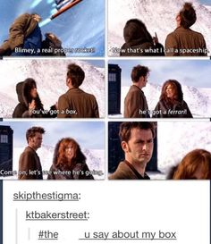 What you should not tell a whovian. A series of random Doctor Who mem… Fanfiction Space Man, 10th Doctor, Cinema, Don't Blink, Torchwood, Film Serie, Dr Who, Look At You, David Tennant