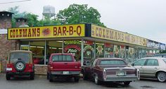 Coleman's Barbecue is a great place to eat in Senatobia, a small town in the Mississippi Delta.