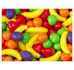 """Runts Fruit Candy: 5LB Bag. Use it for snacks and/or decorating the room. Check out the 2013 GM Week Curriculum to see how the """"fruit of the Spirit"""" plays out in the Master Designer theme."""