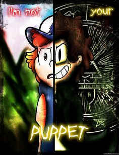 Not Your Puppet by NerdleBooyimi on DeviantArt -- You can see one side better by using your hand