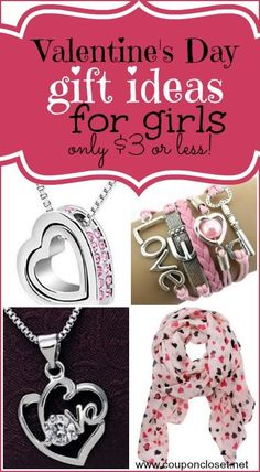 Snag these GREAT Valentines Gift ideas for Girls for $3 or Less Shipped! I just love the scarf idea.