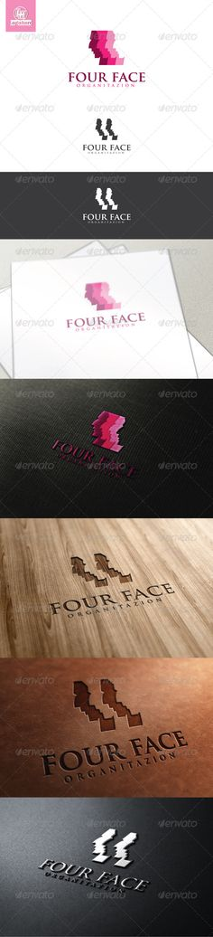 Four Face Logo Template  #GraphicRiver         Four Face Logo Template is An excellent logo template highly suitable for logo company, office, organization, studio, Production, Finance  	 These files consists of resizable vector format files like AI, EPS , and PDF . Also PSD format for raster version alternative.  	 font used trajan pro (default Ai)     Created: 12April13 GraphicsFilesIncluded: PhotoshopPSD #VectorEPS #AIIllustrator Layered: Yes MinimumAdobeCSVersion: CS Resolution…
