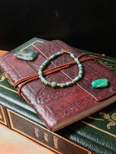 fancy-jasper-and-howlite-turquoise #bracelets #jasper #green #blue #gold #turquoise #beads