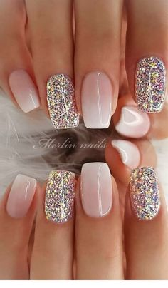 29 awesome and cute summer nails design ideas and pictures for 2019 - page 6 of . - 29 Awesome and Cute Summer Nails Design Ideas and Pictures for 2019 – Page 6 of 28 – ROn – Ne - Chic Nail Designs, Cute Summer Nail Designs, Cute Summer Nails, Winter Nail Designs, Acrylic Nail Designs, Summer Design, Nail Ideas For Winter, Spring Nails, Designs For Nails