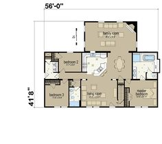 Floor Plans: The Tuscani - Manufactured and Modular Homes