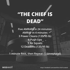 Five AMRAPs in 24 minutes: AMRAP in 4 minutes; 6 Push-Ups; 1 minute Rest, then Repeat times total) Crossfit Barbell, Crossfit Workouts At Home, Crossfit Baby, Crossfit Motivation, Crossfit Games, Amrap Workout, Workout Tips, Kettlebell Training, Kettlebell Cardio