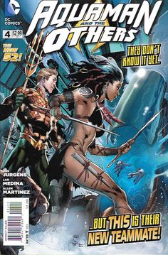 Aquaman and the Others # 4 DC Comics The New 52!