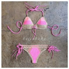 sunrise bikini by beijobaby on Etsy