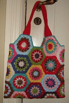 crochet hex bag oda bag 11